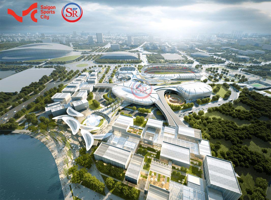Khu đô thị Saigon Sports City của Keppel Land đang san lấp mặt bằng